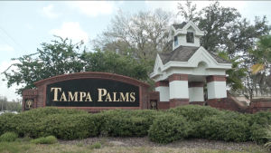 Tampa Palms-Entrance Sign