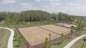 Estancia-Basketball Courts