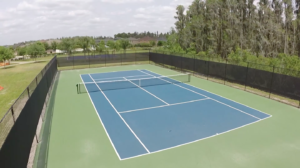 K Bar Ranch-Tennis Court