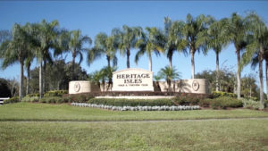 Heritage Isles-Entrance Sign