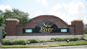 New River-Entrance Sign