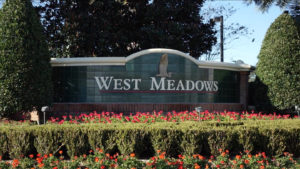 West Meadows-Entrance Sign