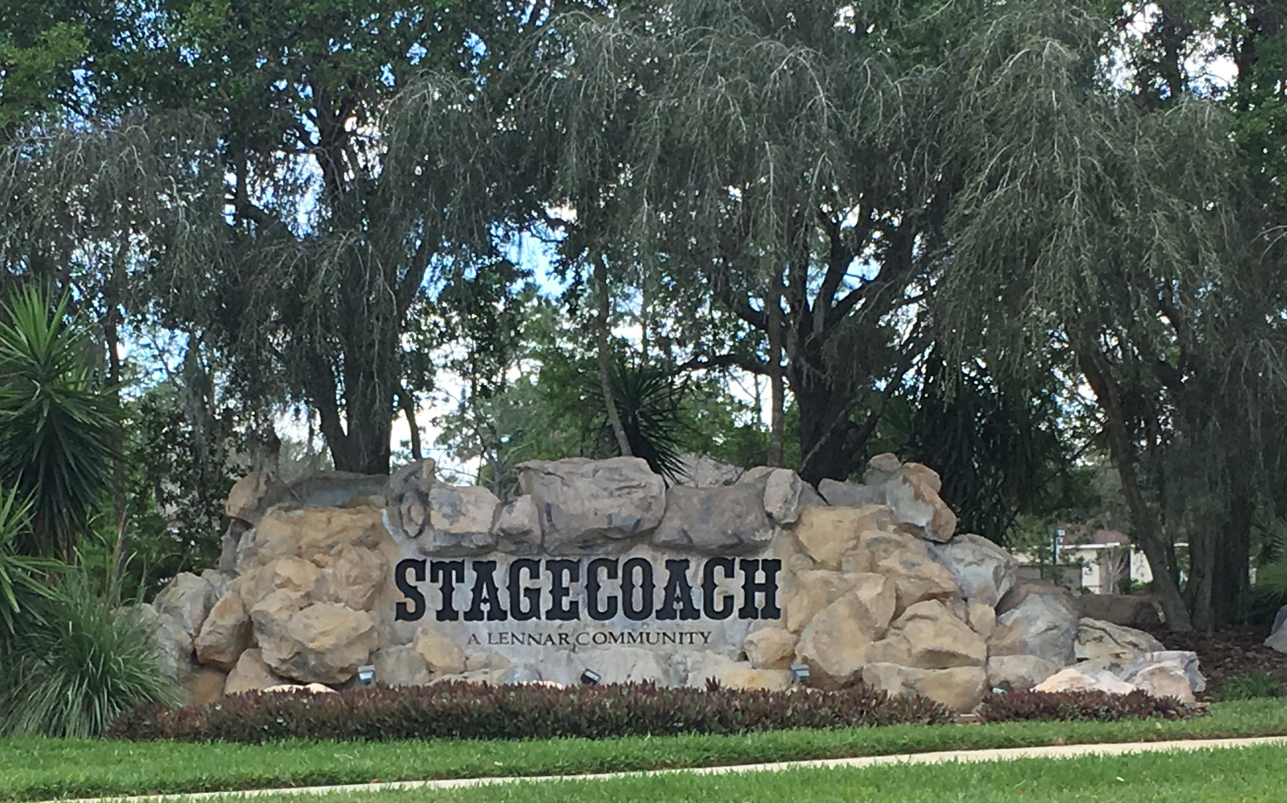 Stagecoach Entrance